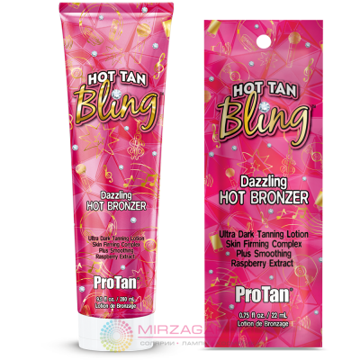 Крем для солярия Pro Tan HOT TAN BLING